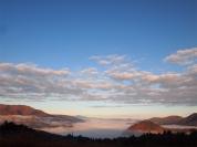 早朝の雲海と紅葉(11月撮影)