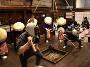 【14】古民家で行われる郷土芸能「早乙女踊り」