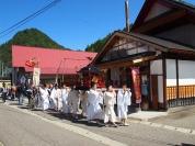 20年に一度の鹿島神社の御遷宮(平成26年/9月撮影)